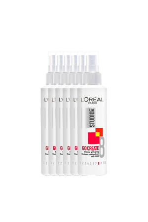 Go Greate haargel - 6x 150ml multiverpakking