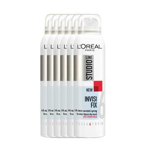 24h micro-verstuivende haarspray - 6x 250ml multiverpakking
