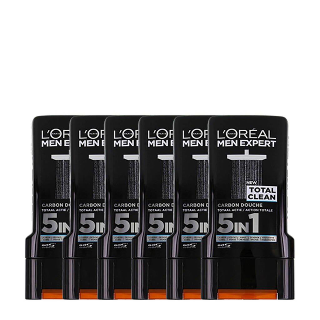 L'Oréal Paris Men Expert douchegel - 6x 300ml multiverpakking