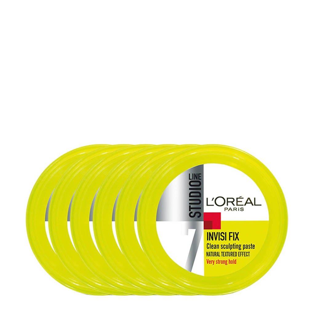 L'Oréal Paris Studio Line very strong hold haargel - 6x 75ml multiverpakking