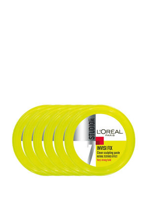 very strong hold haargel - 6x 75ml multiverpakking