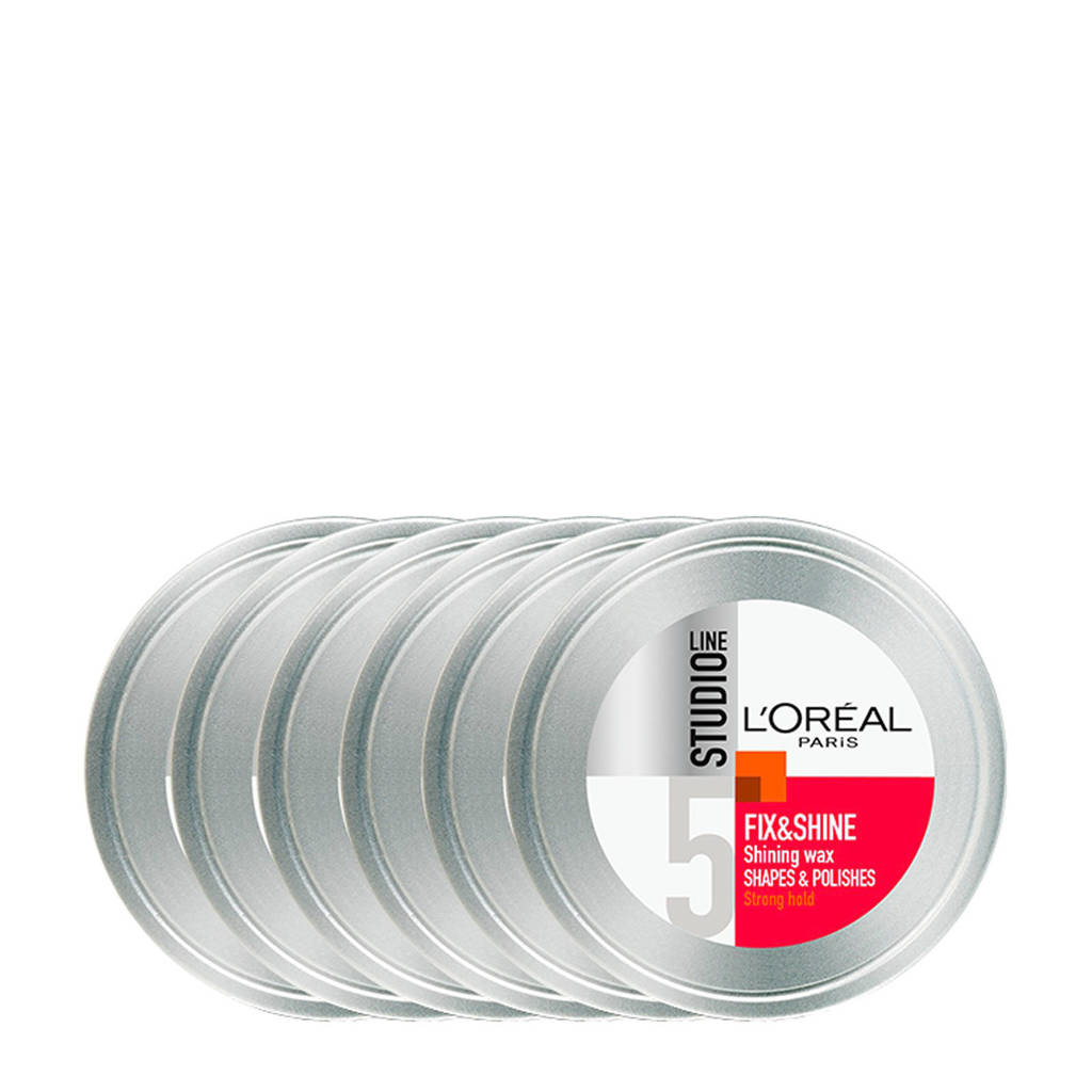 L'Oréal Paris Studio Line wax - 6x 75ml multiverpakking