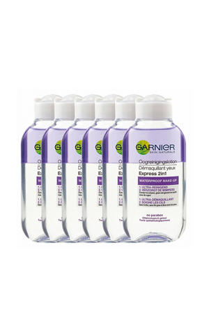 Essentials 2-in-1 Waterproof Make-up Oogreinigingslotion oog make-up remover - 6x 125ml multiverpakking