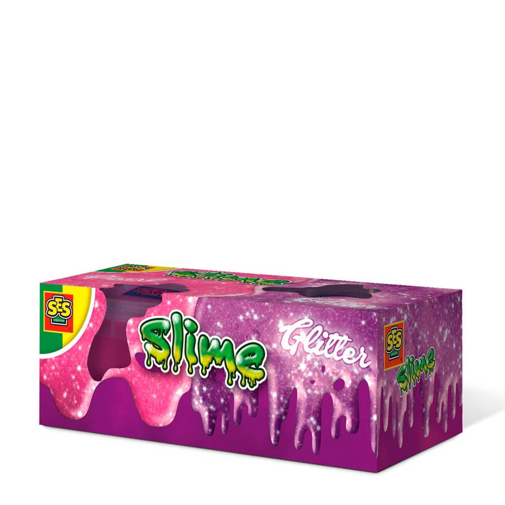 SES  Slime - Glitter  2x120gr