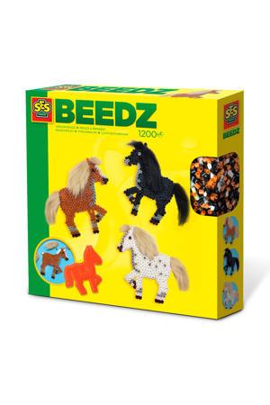 strijkkralen Paarden met manen