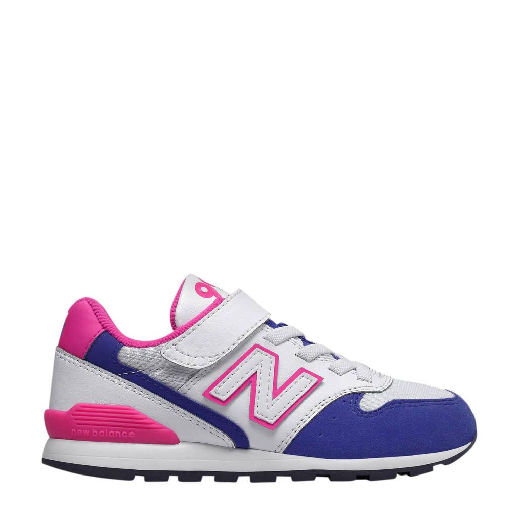 New Balance   YV996 sneakers wit/roze, Wit/roze