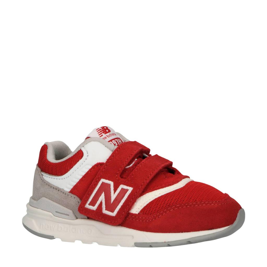 New Balance  997 sneakers rood/wit/grijs, Rood/Wit/Grijs