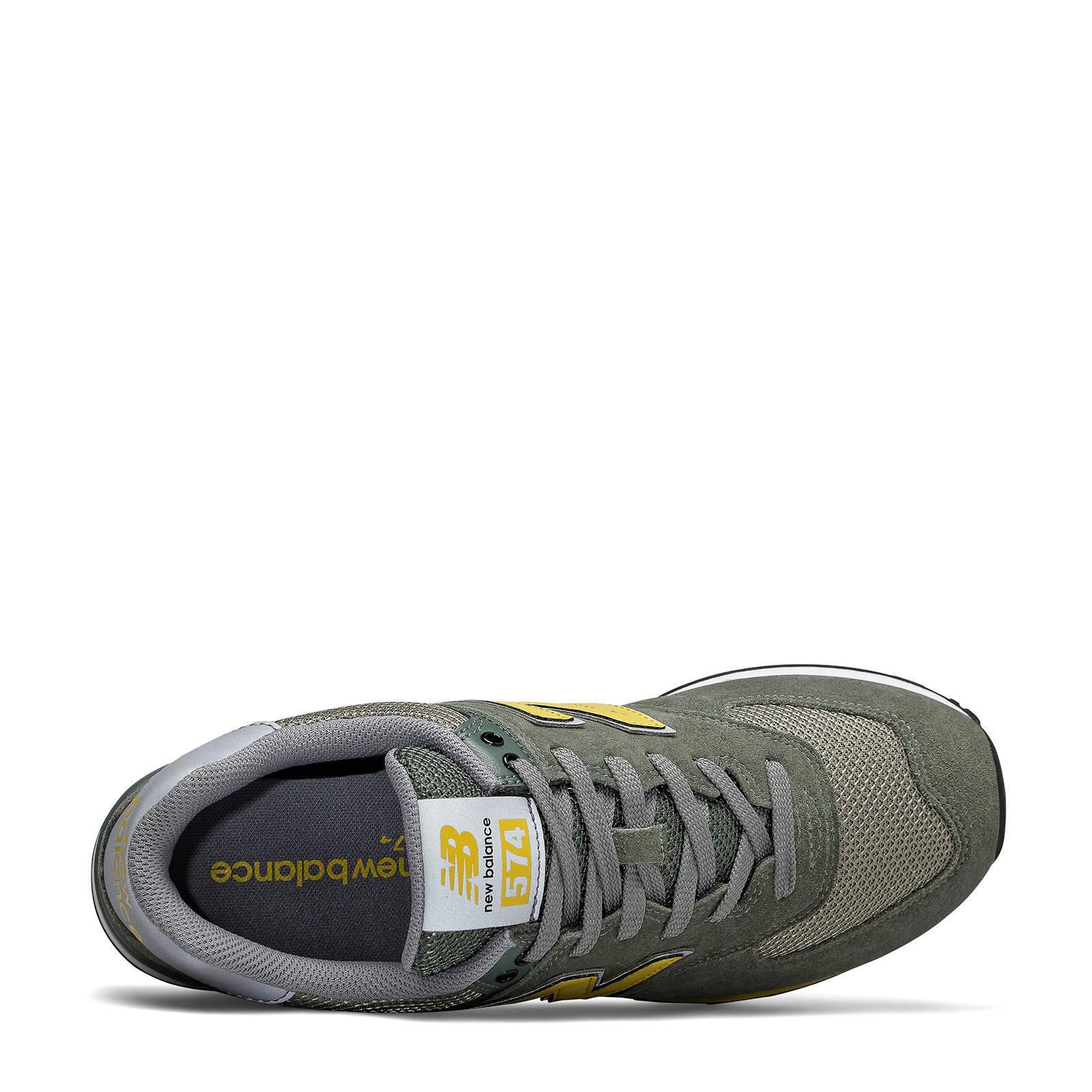 574 sneakers grijsgeel