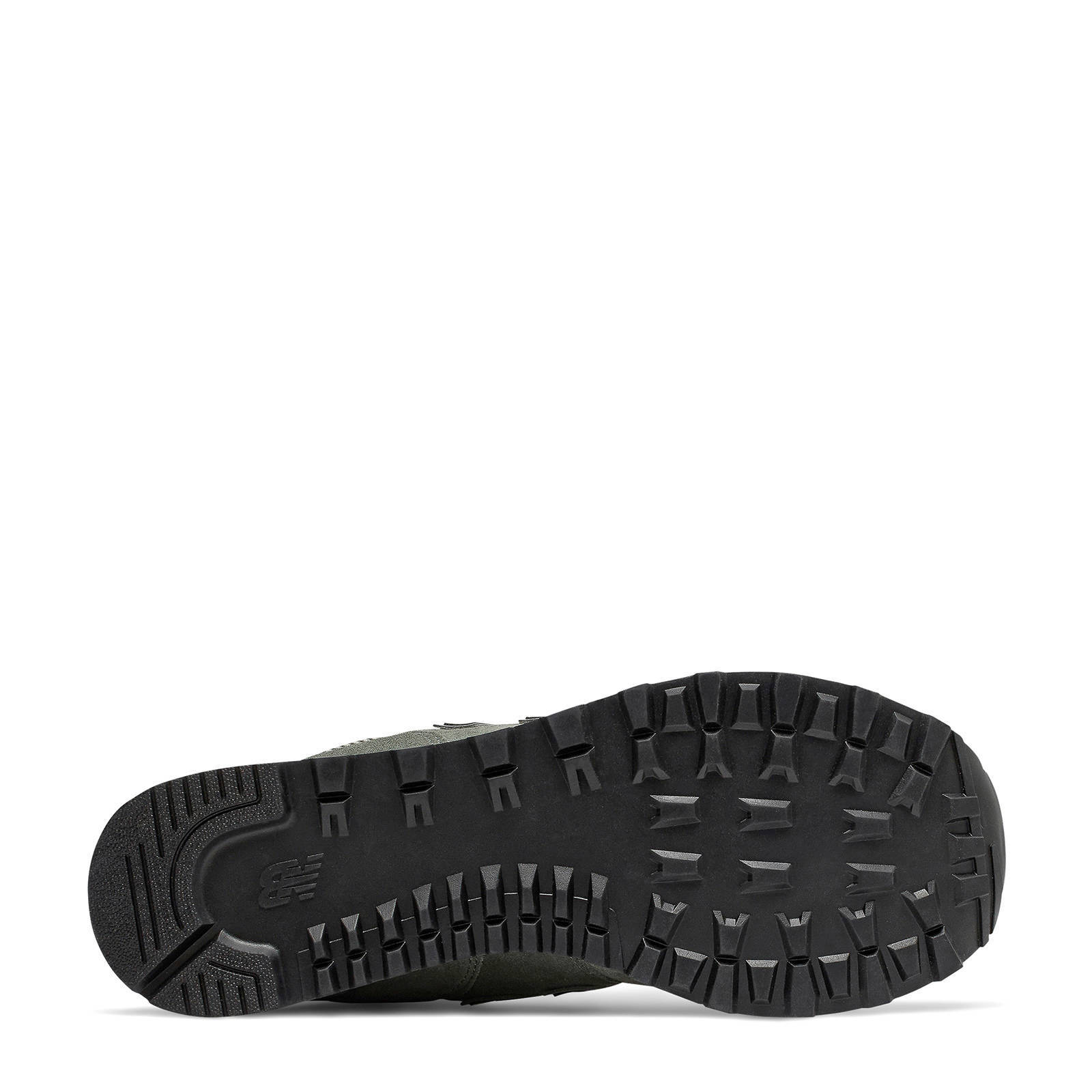 New Balance 574 sneakers grijsgeel | wehkamp