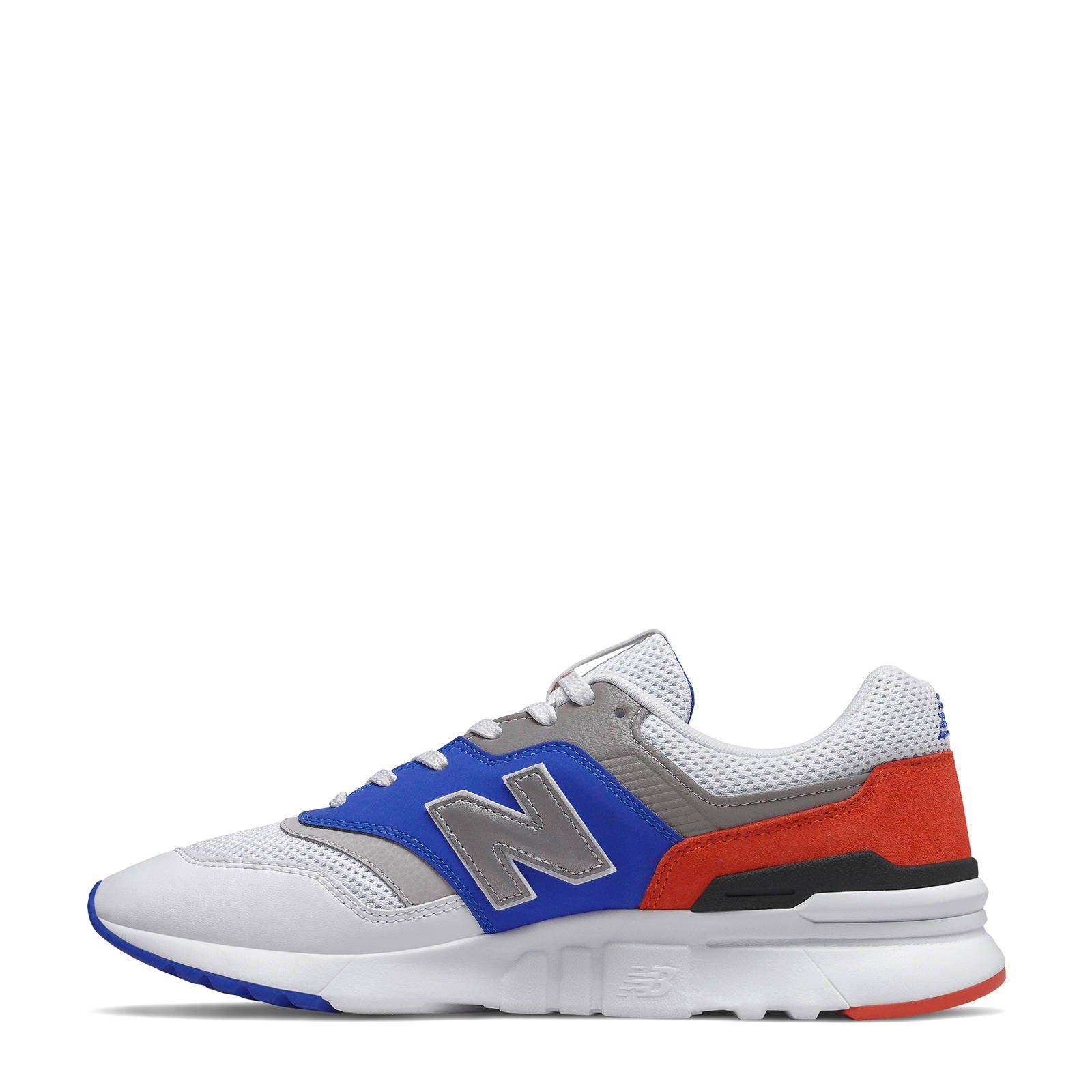 New Balance 997 sneakers witblauw | wehkamp