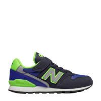 New Balance   YV996 sneakers donkerblauw/lichtgroen, Dankerblauw/lichtgroen