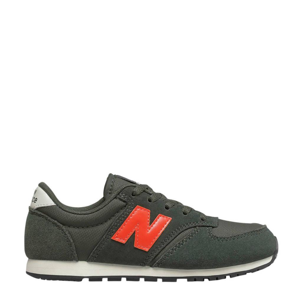 New Balance  500 sneakers donkergroen/oranje, Donkergroen/oranje