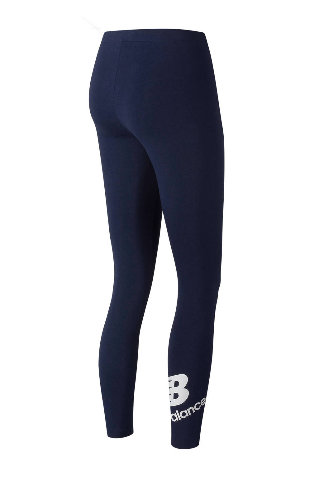 New Balance legging donkerblauw, Donkerblauw/wit