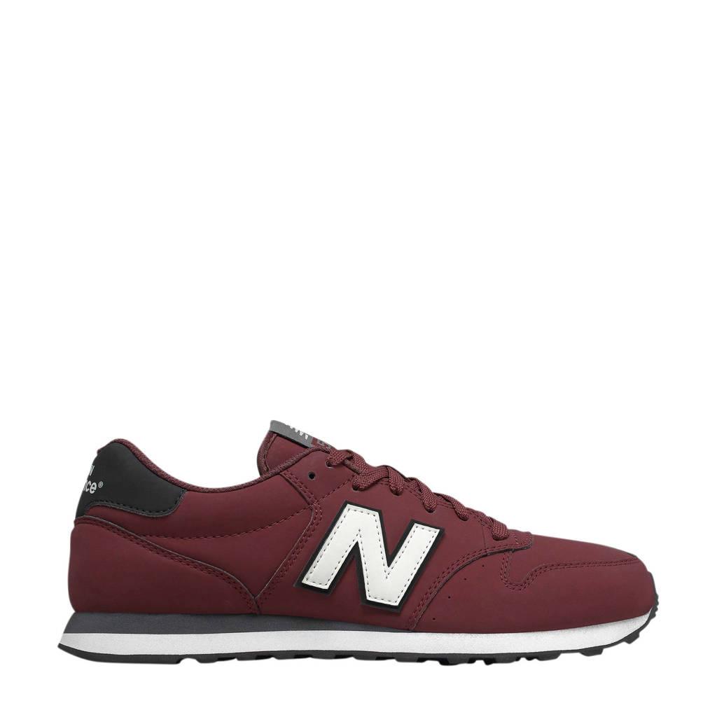 New Balance  GM500 sneakers donkerrood/zwart, Donkerrood/zwart