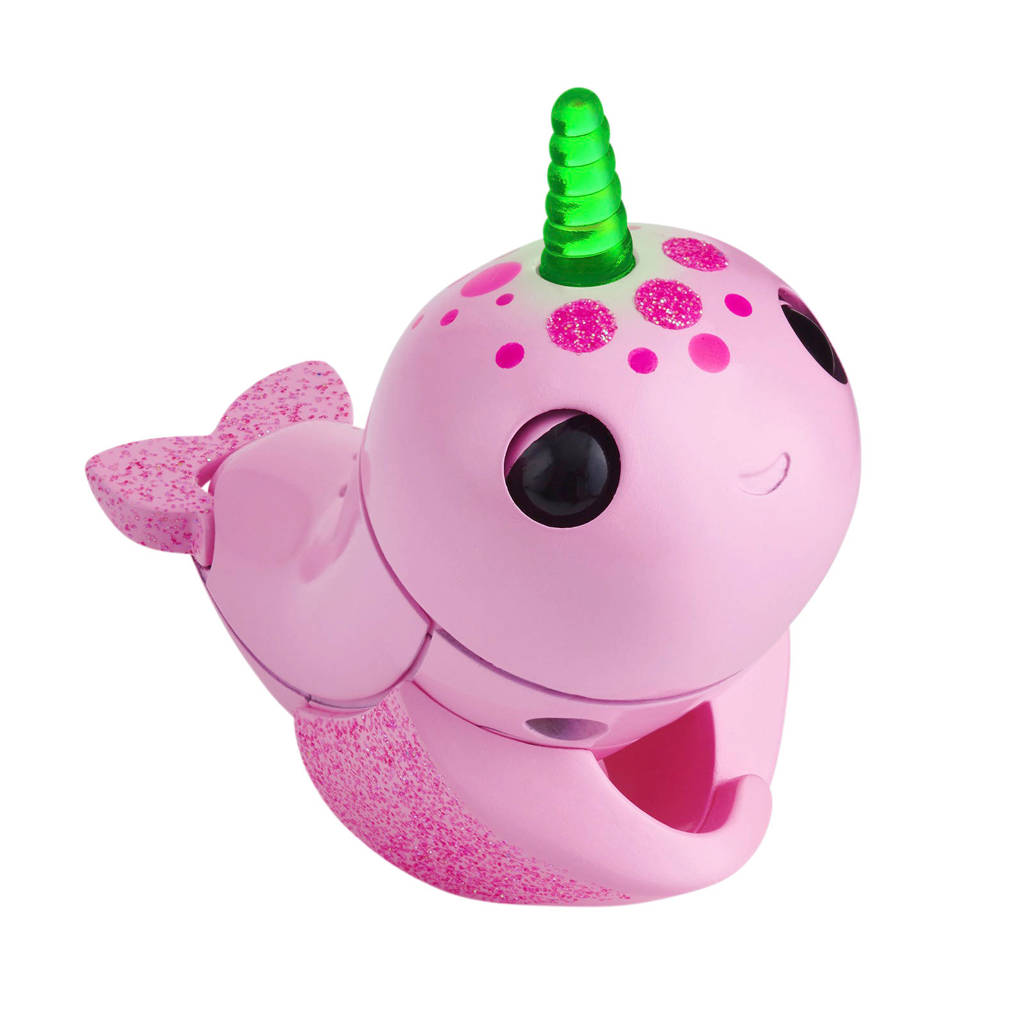 WowWee Fingerlings light up narwhal - Rachel