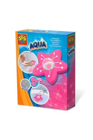 Aqua Glitter bad