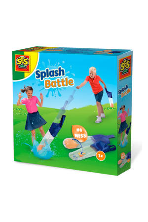 Outdoor Splash battle - waterballon slinger