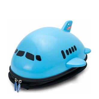 Airplane blauw rugzak 34x33x19 cm (91102)