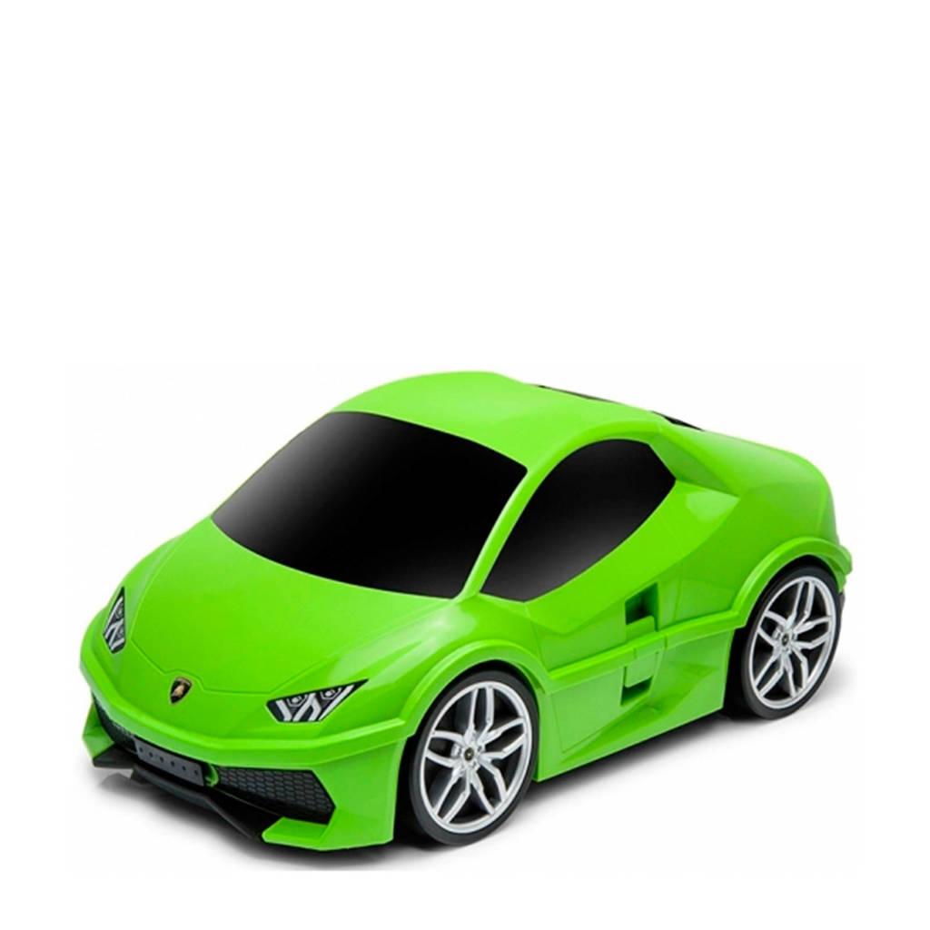 Ridaz Lamborghini Huracan koffer groen 49x27x22 cm (91002), Groen