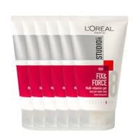 L'Oréal Paris Studio Line haargel - 6x 150ml multiverpakking
