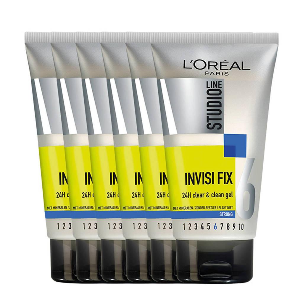 L'Oréal Paris Studio Line haargel - 6x 150ml