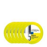 L'Oréal Paris Studio Line Invisi Fix Crème gel - 6 stuks multiverpakking