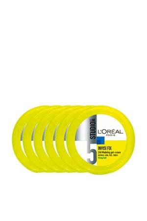 Invisi Fix Crème gel - 6 stuks multiverpakking