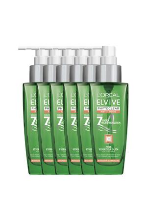 Elvive Phytoclear 7 dagen hoofdhuid lotion - 6x 100ml multiverpakking