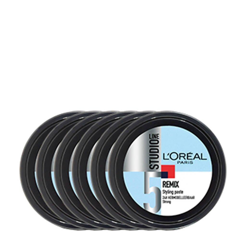 L'Oréal Paris Studio Line fibre paste - 6x 150ml multiverpakking