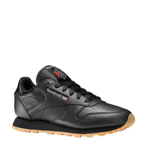 Reebok CL LTHR sneakers zwart