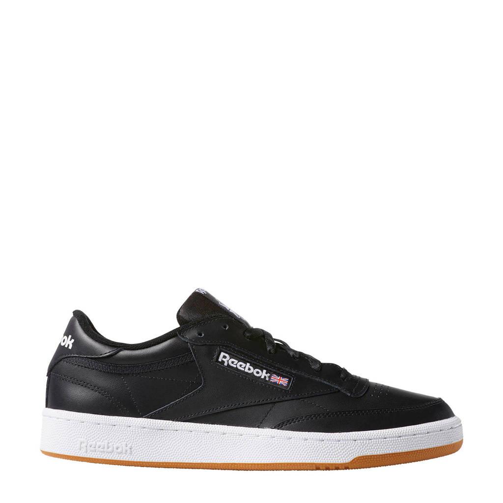 Reebok  Club C 85 sneakers zwart, Zwart/wit