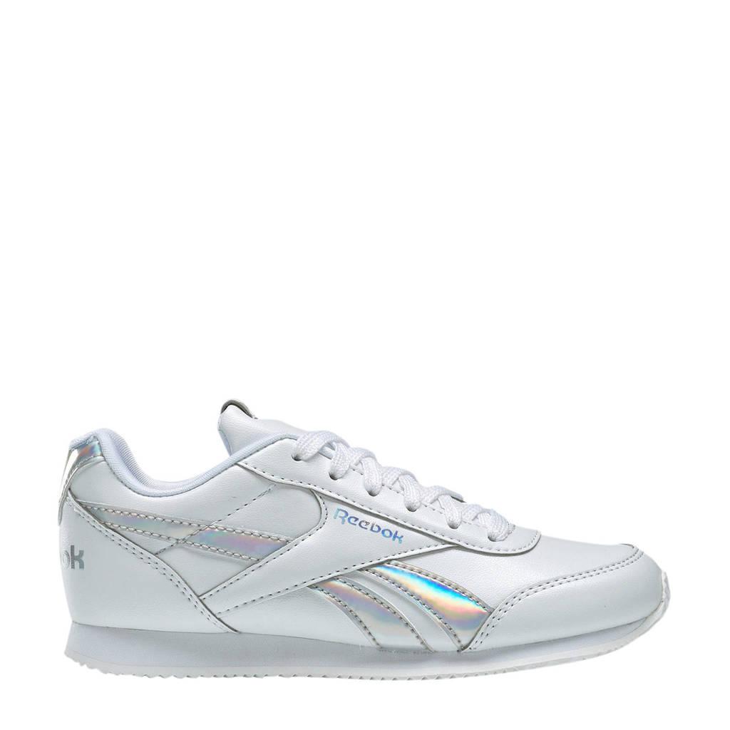 Reebok  Royal Cljog sneakers wit/zilver, Wit/zilver