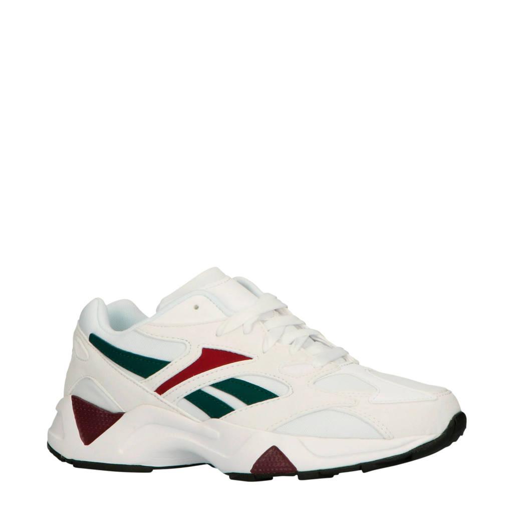 Reebok  Aztrek 96 sneakers wit/donkergroen/donkerrood, Wit/donkergroen/donkerrood