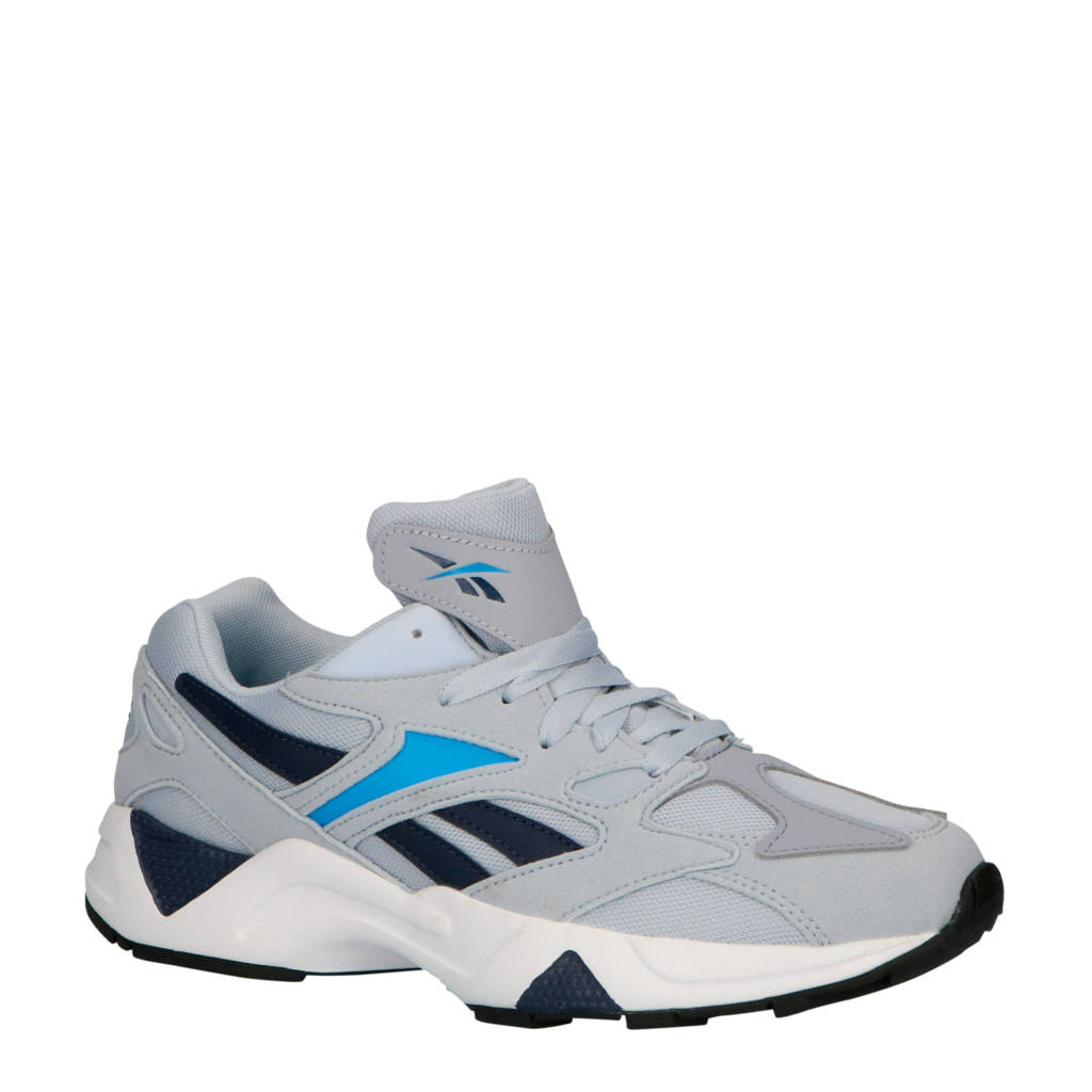 Reebok  Aztrek 96 sneakers grijs/zwart/kobaltblauw, Grijs/zwart/kobaltblauw