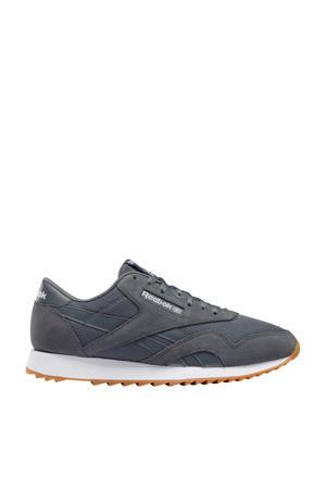 Nylon Ripple  sneakers grijs/wit