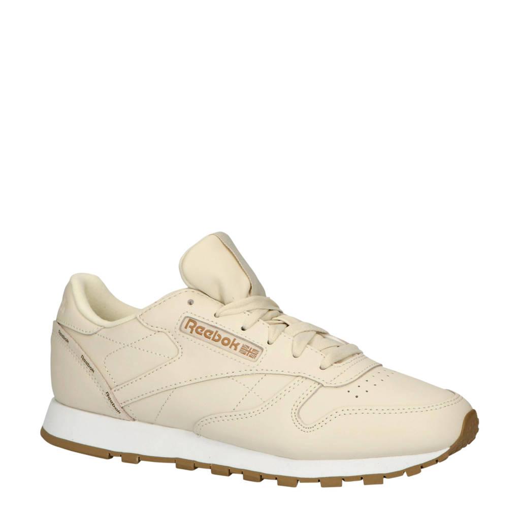 Reebok Classic Leather  sneakers ecru, Ecru