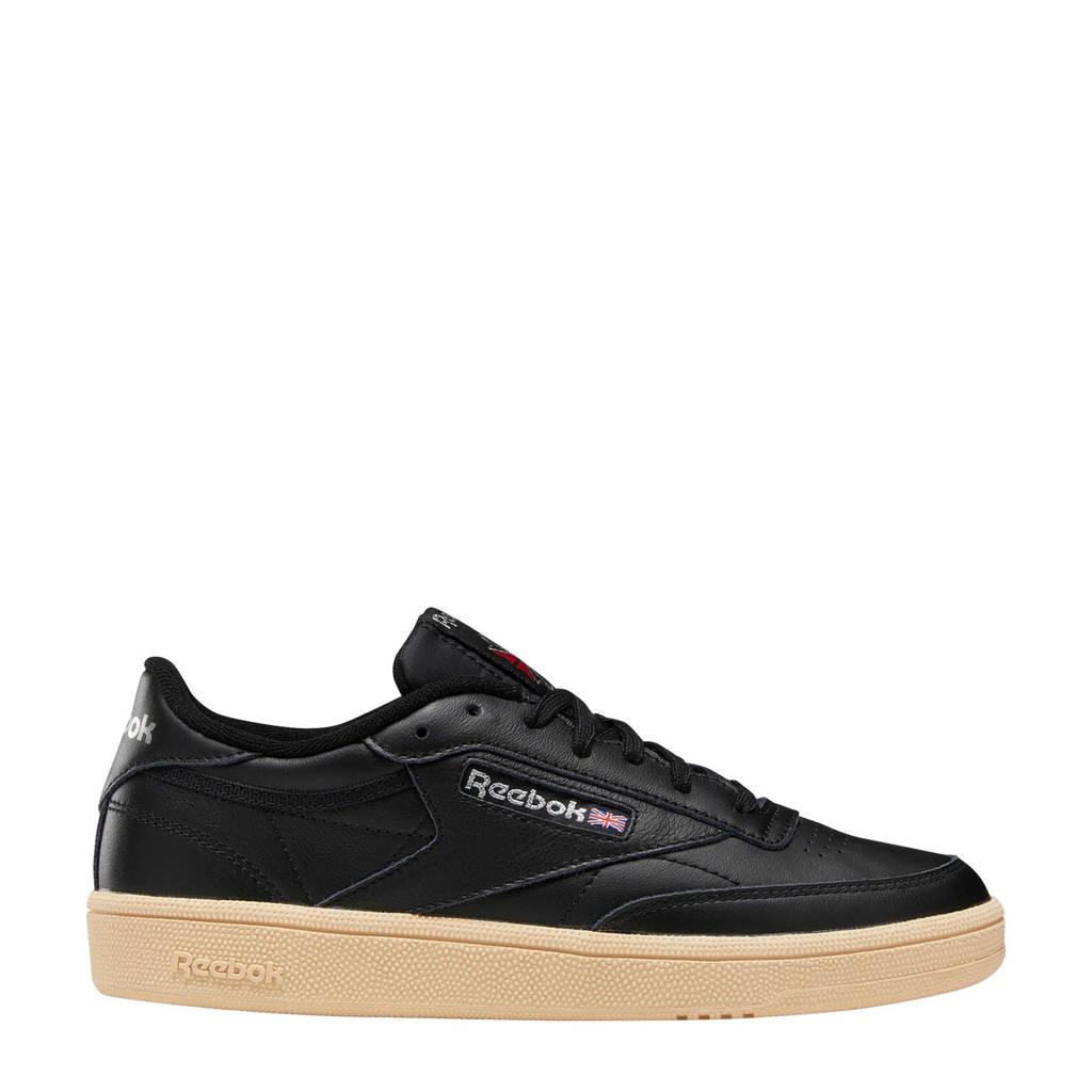 Reebok  Club C 85 sneakers zwart, Zwart/grijs