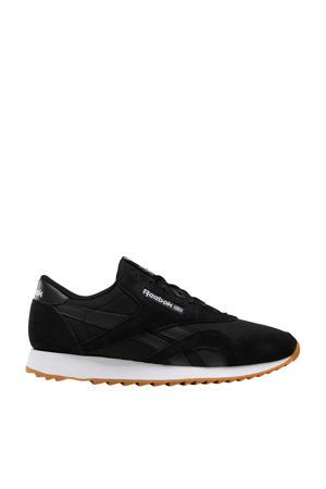 Nylon Ripple  sneakers zwart/wit/grijs