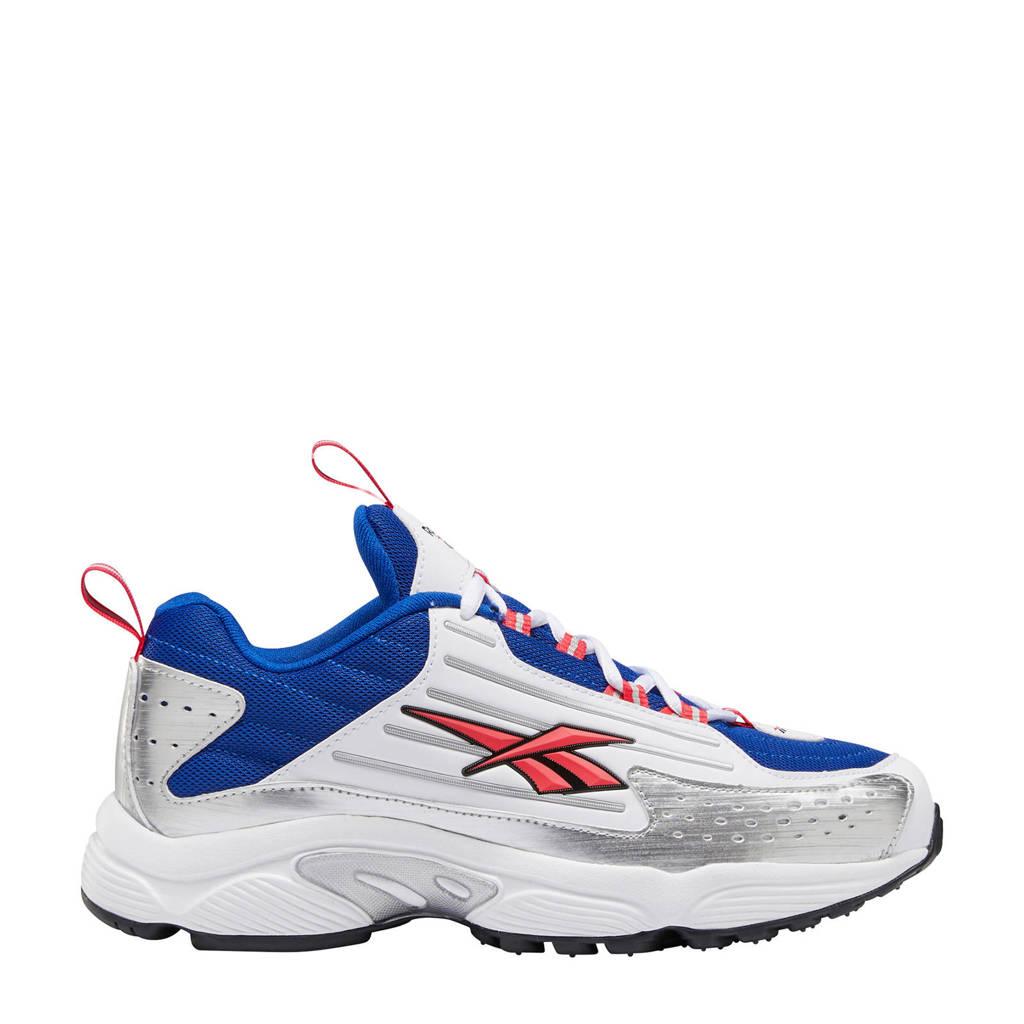 Reebok DMX Series 2K  sneakers wit/blauw/roze, Blauw/Wit/Roze/Zilver