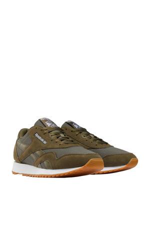 Nylon Ripple  sneakers donkergroen/grijs