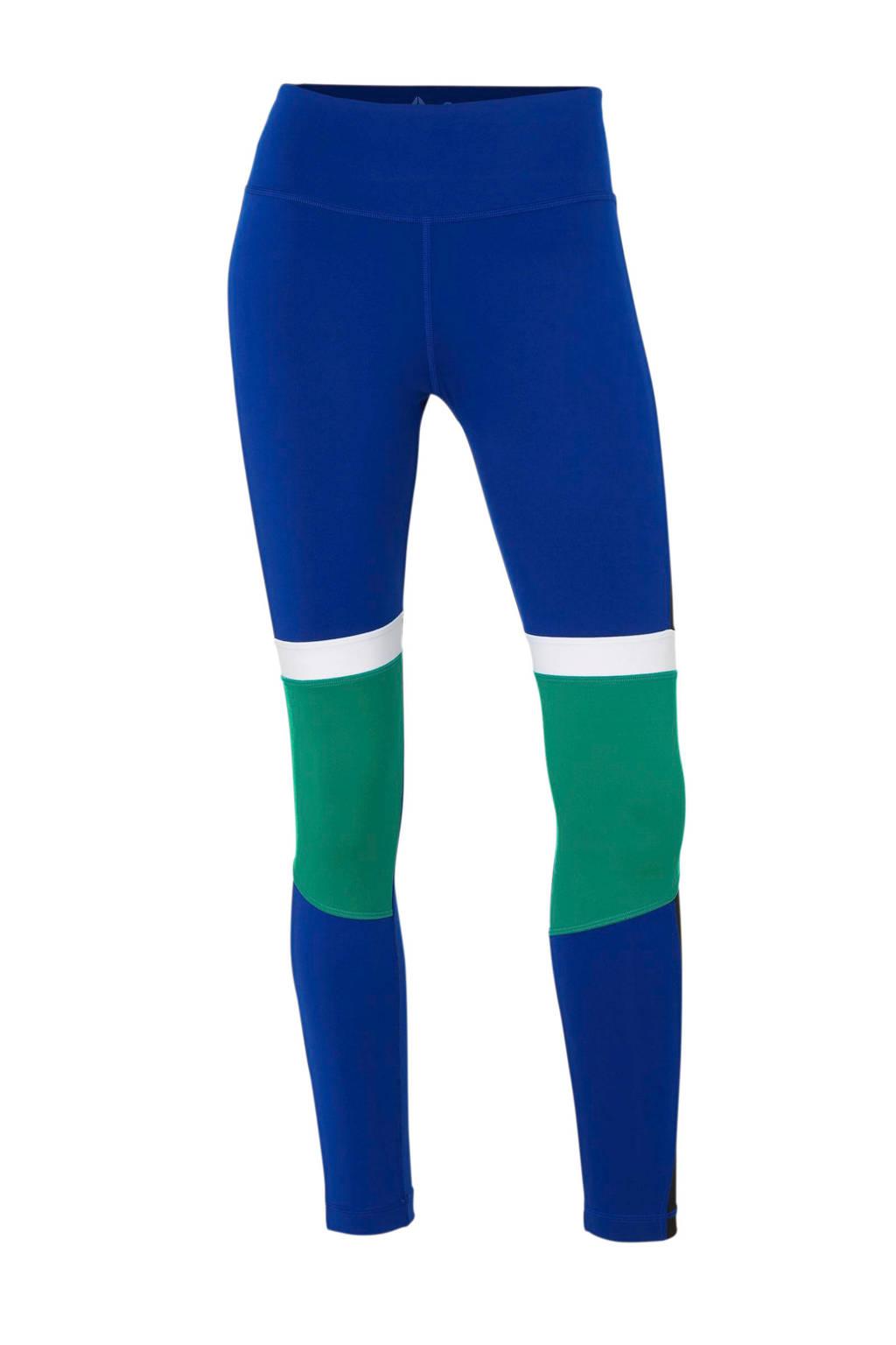 Reebok sportbroek, Kobaltblauw/groen