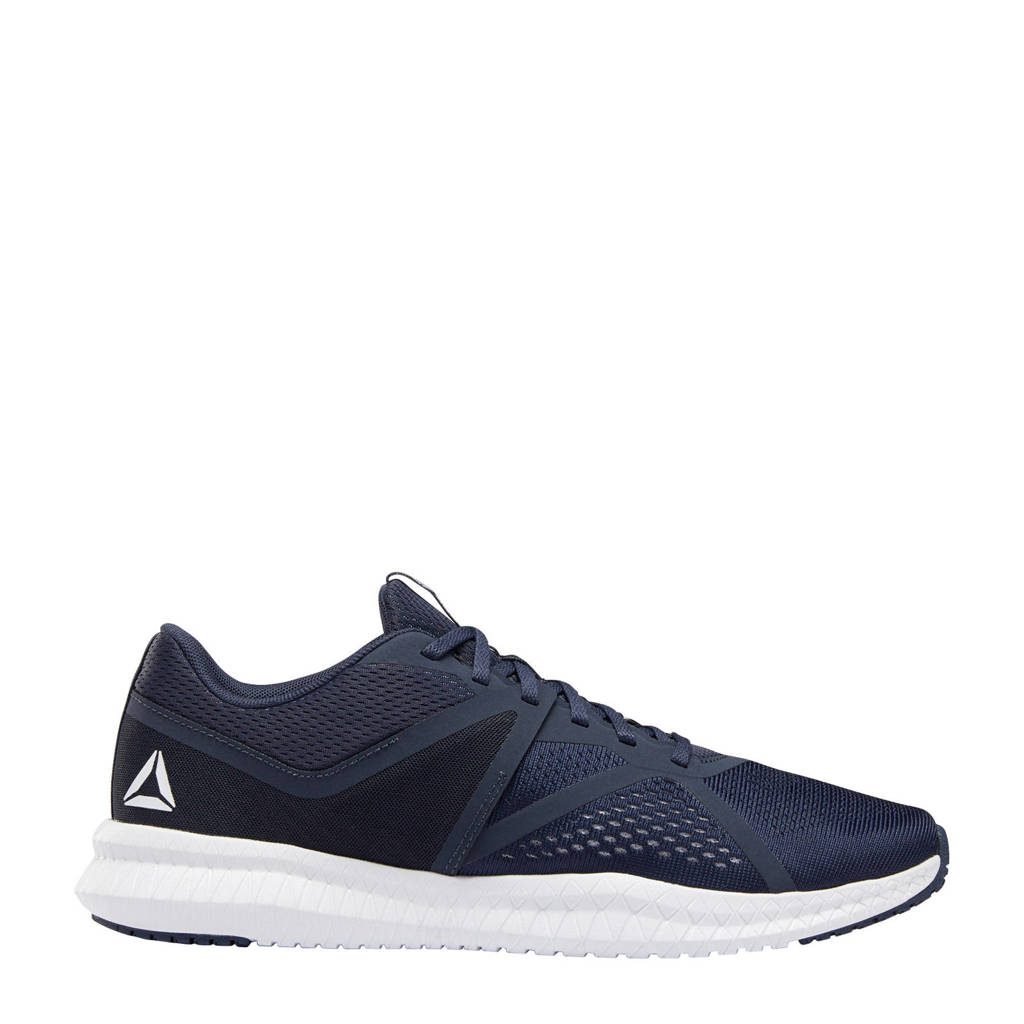 Reebok   Flexagon Fit fitness schoenen donkerblauw/wit, Donkerblauw