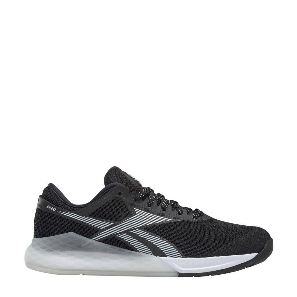 Reebok Nano 9  Nano 9 fitness schoenen zwart/wit/zilver, Zwart/wit/zilver