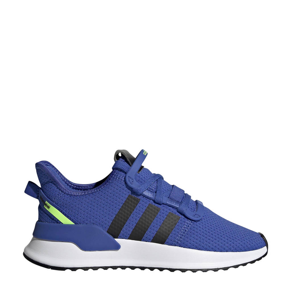 adidas Originals  U_Path Run J sneakers blauw, Blauw/zwart