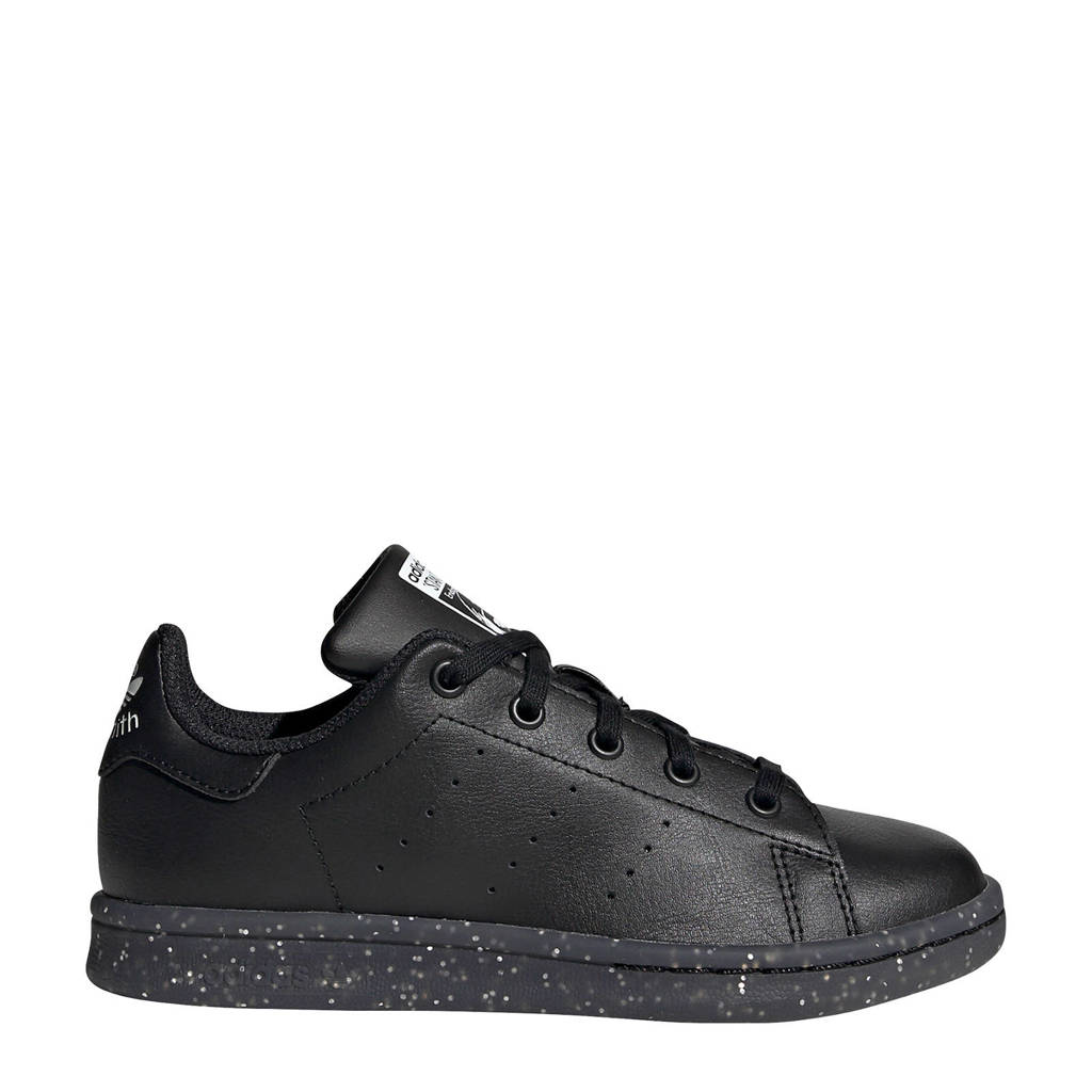 adidas Originals Stan Smith C leren sneakers zwart, Zwart
