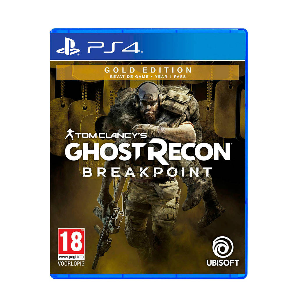 Tom Clancy's Ghost Recon Breakpoint Gold edition (PlayStation 4), -