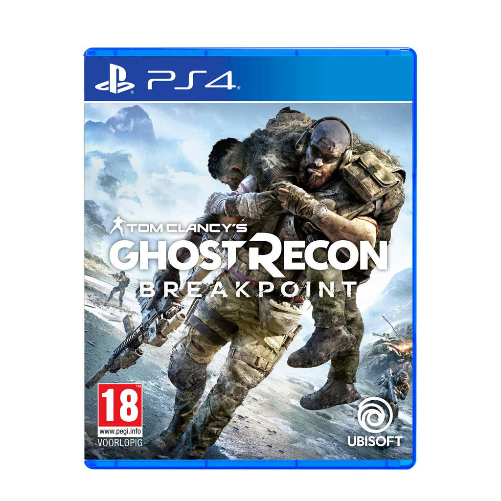 Tom Clancy's Ghost Recon Breakpoint Standard edition (PlayStation 4), -