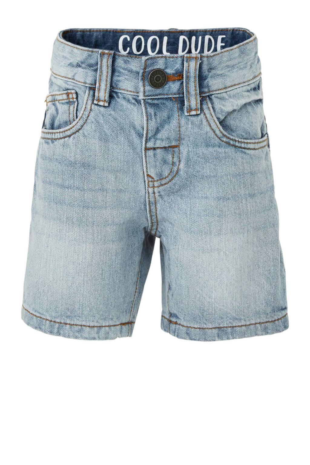 C&A Palomino jeans bermuda met zijstreep, Light denim