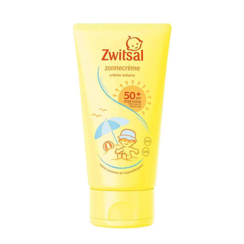 Zwitsal zonnebrandcrème SPF50+ 150 ml - baby, Zonnefactor SPF 50+