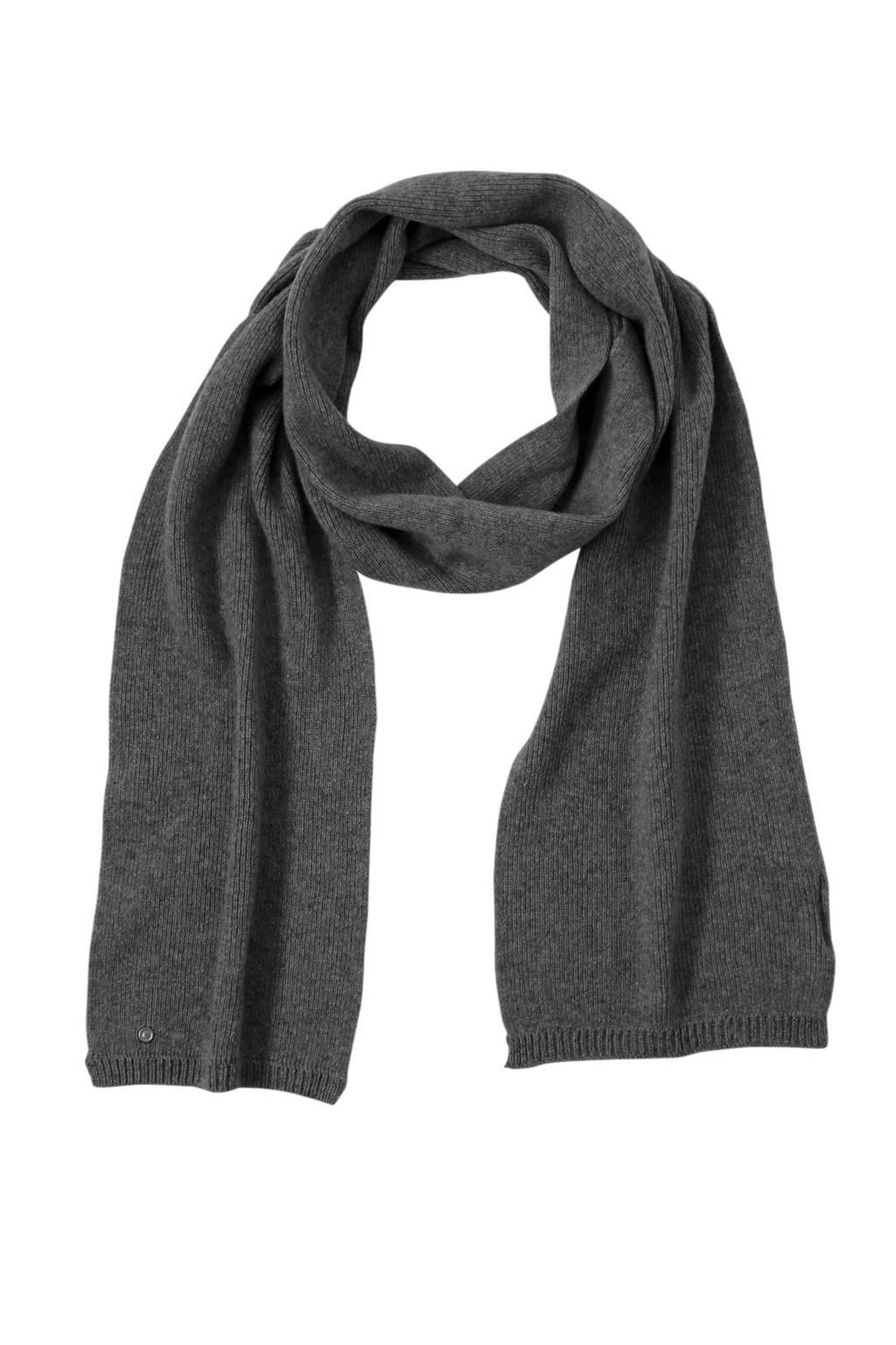 Bickley + Mitchell sjaal grijs, Grijs